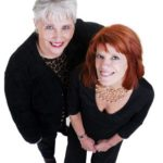 3495408 - two beautiful active women over 50 and 60.