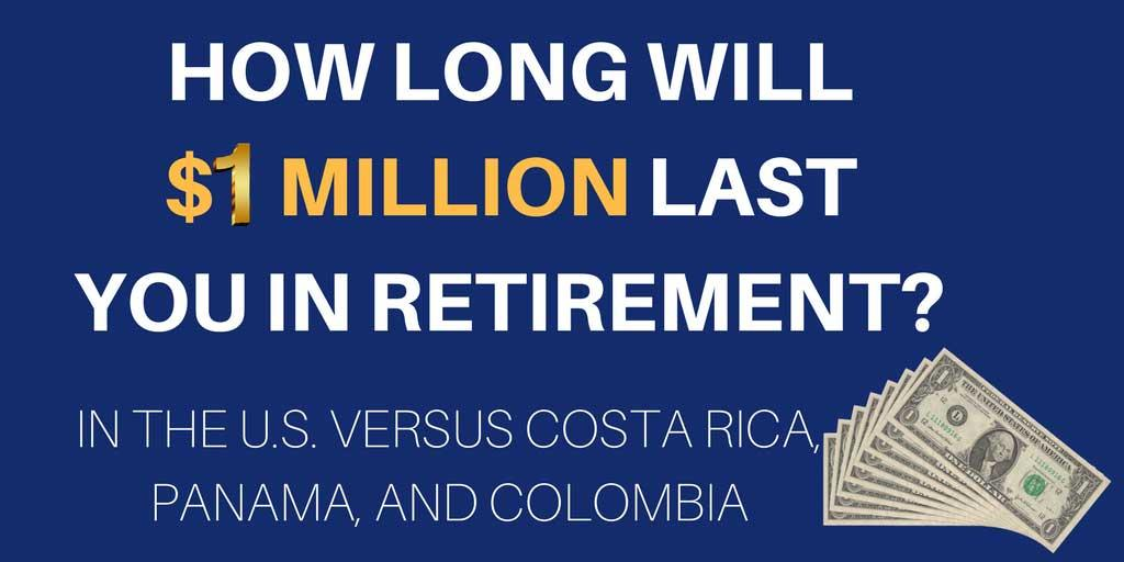 $1 million Last a Couple in Retirement